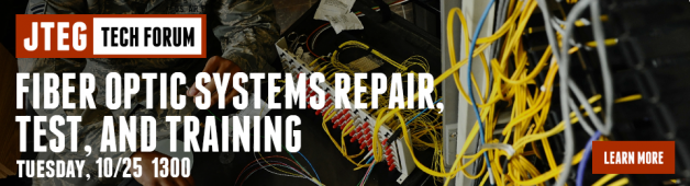 JTEG Technology Forum: Fiber Optic Systems Repair, Test and Training