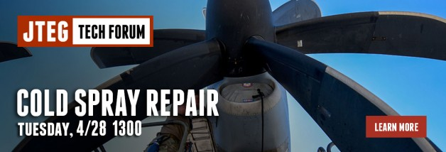 JTEG Technology Forum: Cold Spray Repair
