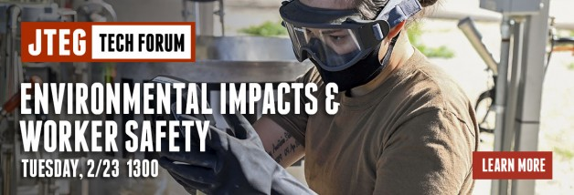 JTEG Technology Forum: Environmental Impacts & Worker Safety