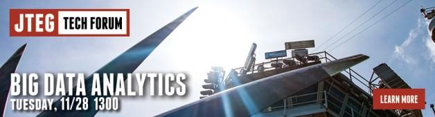 JTEG Technology Forum: Big Data Analytics