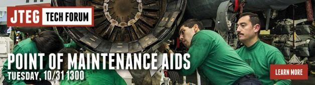 JTEG Technology Forum: Point of Maintenance Aids