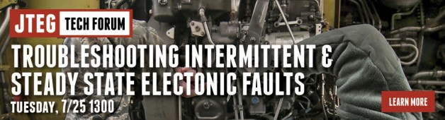 JTEG Tech Forum: Troubleshooting Intermittent & Steady State Electronic Faults