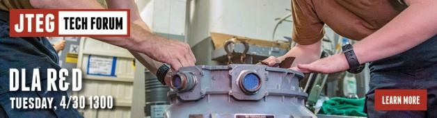 JTEG Technology Forum: Defense Logistics Agency (DLA) R&D